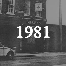 The Grapes in 1981